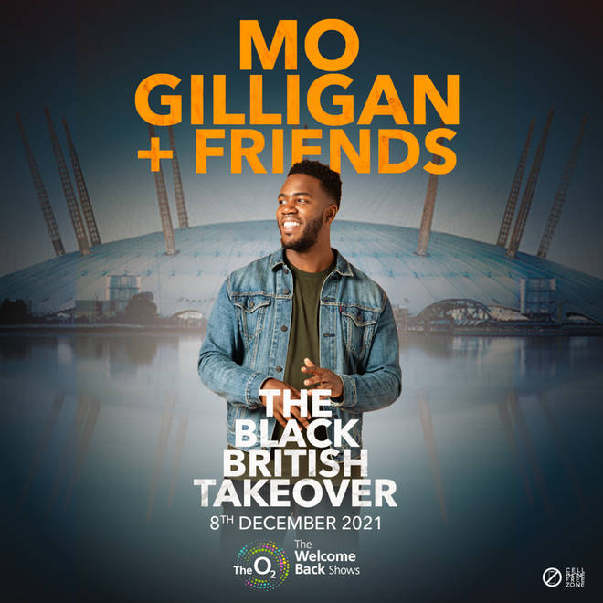 The BAFTA winner is set to take over London's O2 Arena with some of the biggest stars from the Black British circuit.