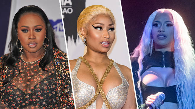 Remy Ma, Nicki Minaj and Cardi B
