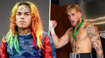 """Tekashi 6ix9ine slams Jake Paul after YouTuber claims he would """"love to knock him out"""""""