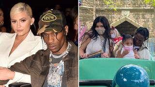Kylie Jenner & Travis Scott fuel romance rumours after Disneyland trip.