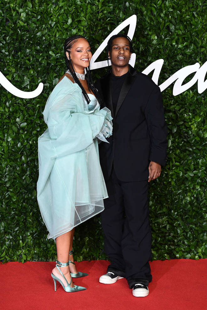 """Rocky hailed Rihanna as """"The One"""" in a new interview. (Pictured here attending the The Fashion Awards 2019 in London)."""