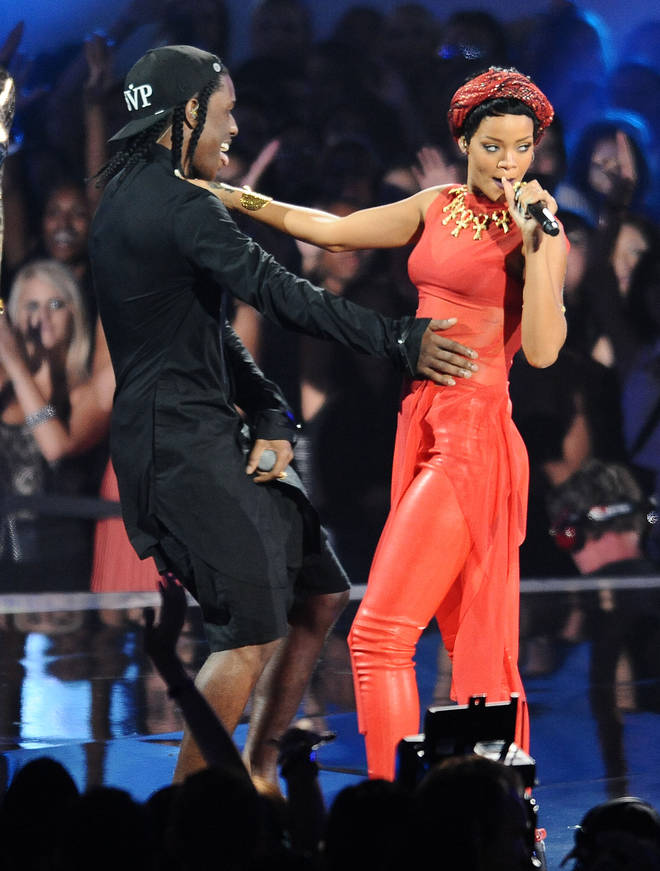 Rihanna and Rocky have been romantically linked since 2013. (Pictured here at the 2012 MTV Video Music Awards).
