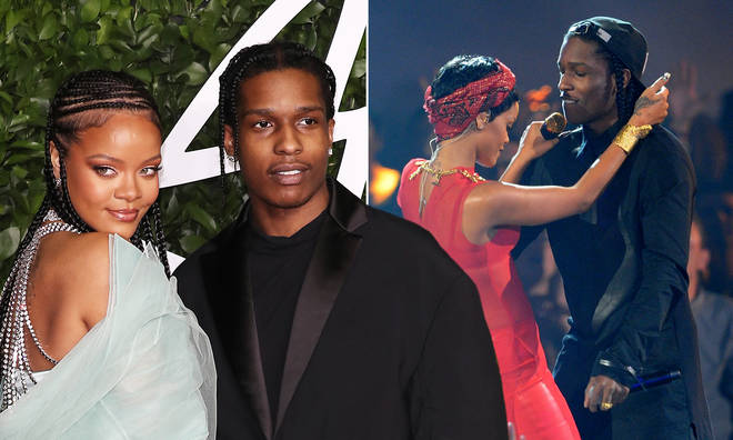 """A$AP Rocky calls girlfriend Rihanna """"The One"""" and """"the love of his life"""""""