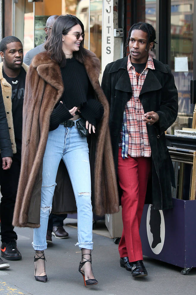 Kendall Jenner was romantically linked to the rapper for over a year.