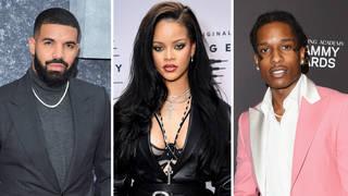 Rihanna dating history: From Drake to A$AP Rocky