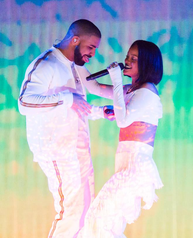 Rihanna and Drake