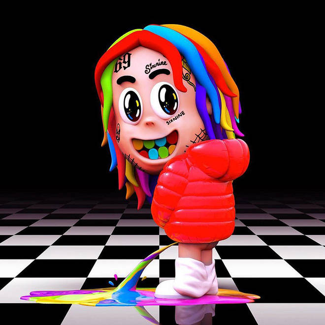 6ix9ine debuted the cover art for 'Dummy Boy' this week.
