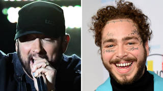 Eminem and Post Malone fans go wild over teased song collaboration
