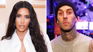 Kim Kardashian Travis Barker