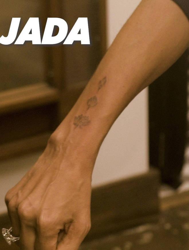 Jada's tattoo