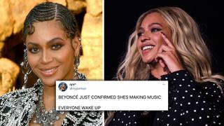 "Beyoncé fans go wild after Destiny's Child group chat audio reveals she's ""cooking some music"""