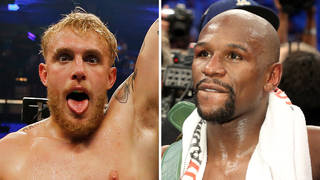 Jake Paul savagely trolls Floyd Mayweather ahead of fight with brother Logan