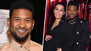 Usher and girlfriend Jenn Goicoechea announce they're expecting second child