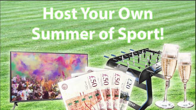 Win a mega summer prize bundle!