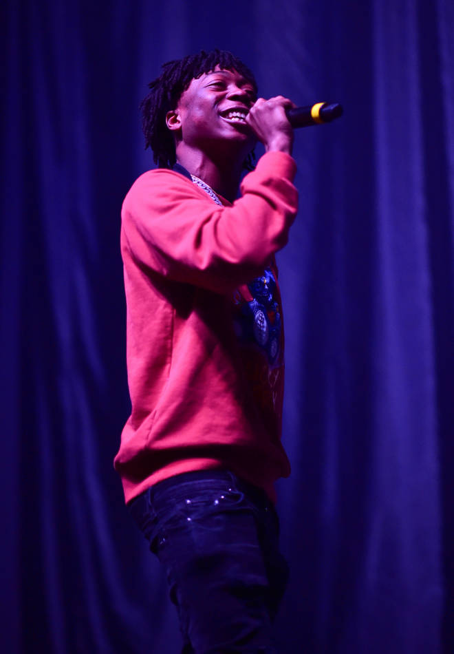 Lil Loaded performs during The PTSD Tour In Concert at The Tabernacle on March 11, 2020 in Atlanta, Georgia.