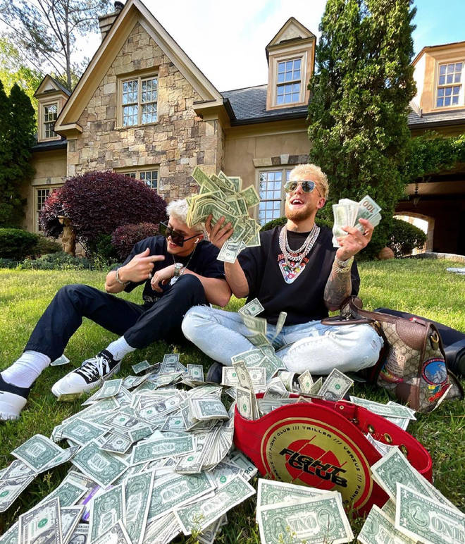 Jake Paul and his money