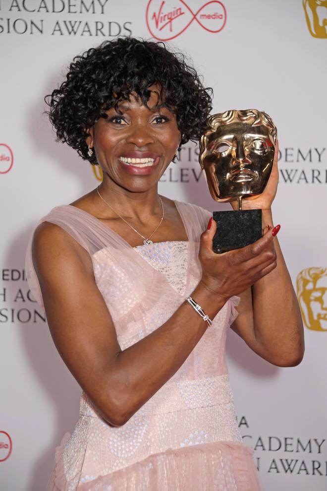 Rakie Ayola won Best 'Supporting Actress'