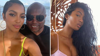 Porsha Williams fiancé Simon Guobadia shares CCTV footage of ex-wife Faylnn 'cheating'