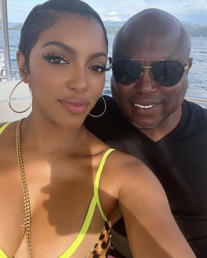 Porsha and Simon went public with their engagement back in May.