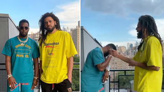 J. Cole and Diddy squash beef rumours after reuniting in heartwarming video