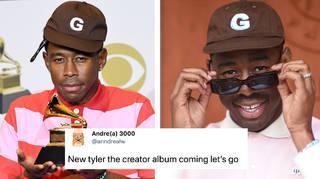 Speculation has begun about Tyler the Creators rumoured new album
