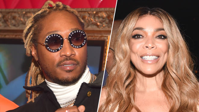 "Future hit back at the talk show host after she called him ""thirsty""."