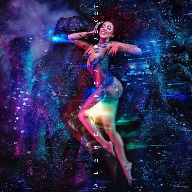 The new song features on her third album Planet Her.
