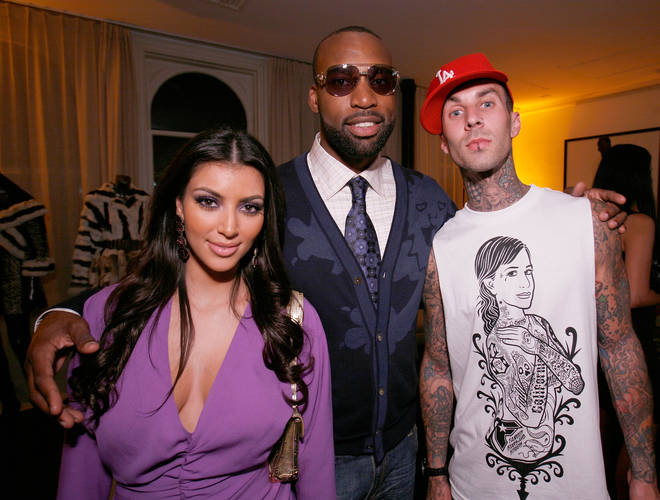 Travis Barker revealed he used to have a crush on Kim Kardashian, Kourtney's younger sister.