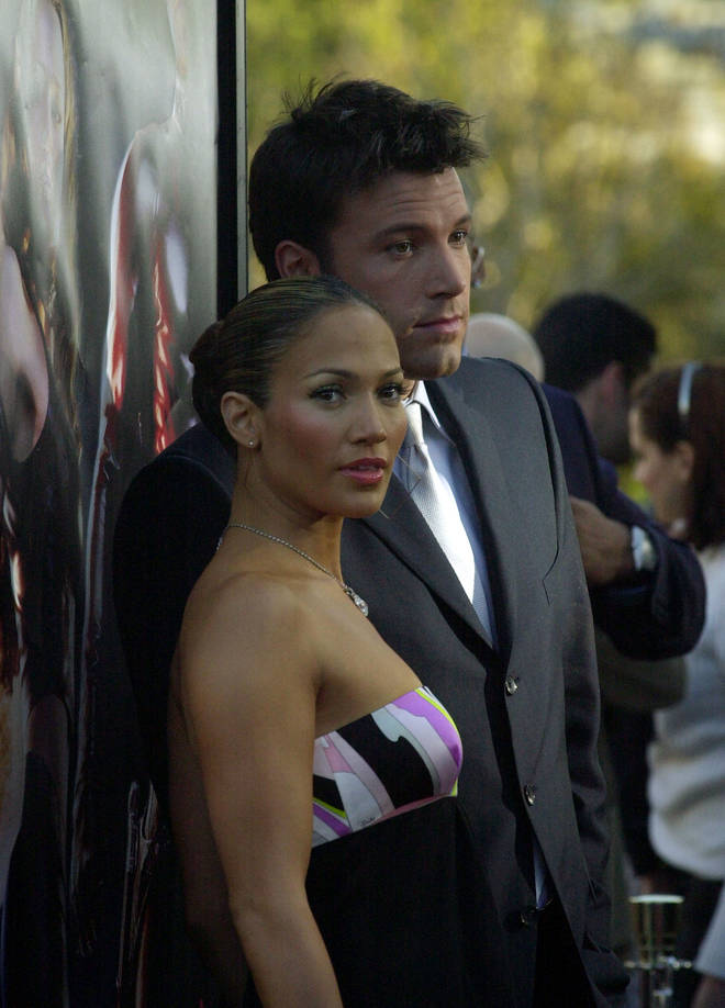 Affleck and Lopez dated in 2002