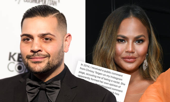 Michael Costello claims Chrissy Teigen's alleged bullying made him suicidal.