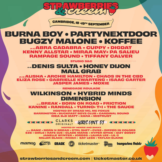 Strawberries & Creem is back for a full-weekend feast of music and vibes.