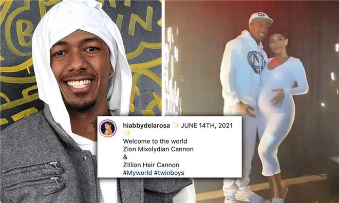 Nick Cannon has welcomed twin boys