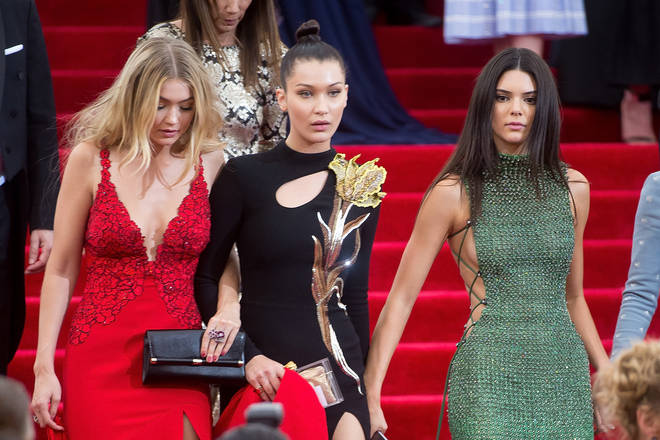 Kendall dated Gigi and Bella's brother