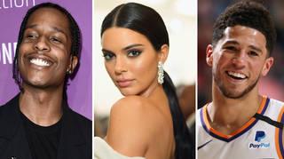ASAP Rocky, Kendall Jenner, Devin Booker