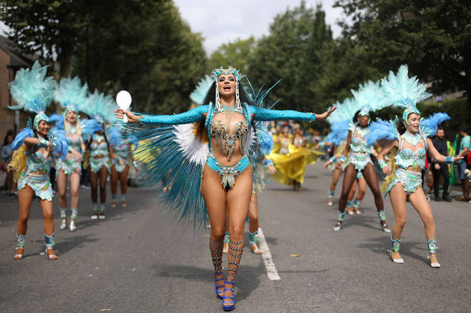 The Notting Hill Carnival is an annual Caribbean carnival event that has taken place in London since 1966.