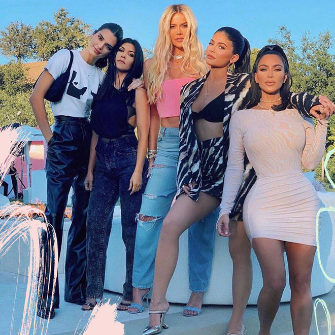 Kim (far right) is thought to be the only billionaire Kardashian.