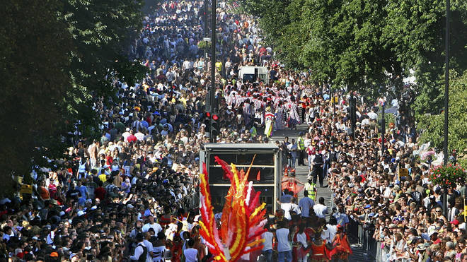 The Notting Hill Carnival takes place on the streets of the Notting Hill area of Kensington, each August over two days.