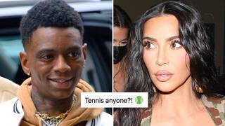 Soulja Boy publicly shoots his shot with Kim Kardashian.