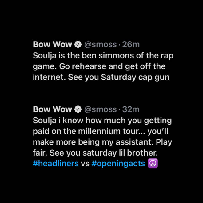 """Bow Wow called Soulja Boy the """"Ben Simmons of the rap game"""""""