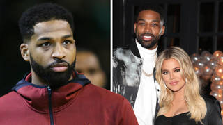 Tristan Thompson responds to claims he 'headed into bedroom with three women' at party after Khloe split