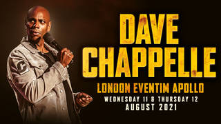Dave Chappelle at the London Eventim Apollo 2021: tickets, dates and more