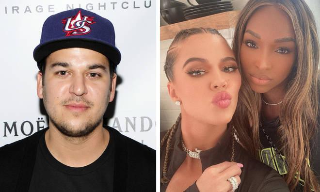 Rob Kardashian 'hooked' up with Malika Huqq