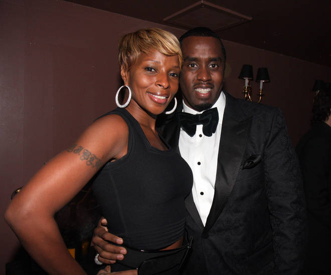 Mary J Blige was rumoured to have dated her musical mentor Diddy