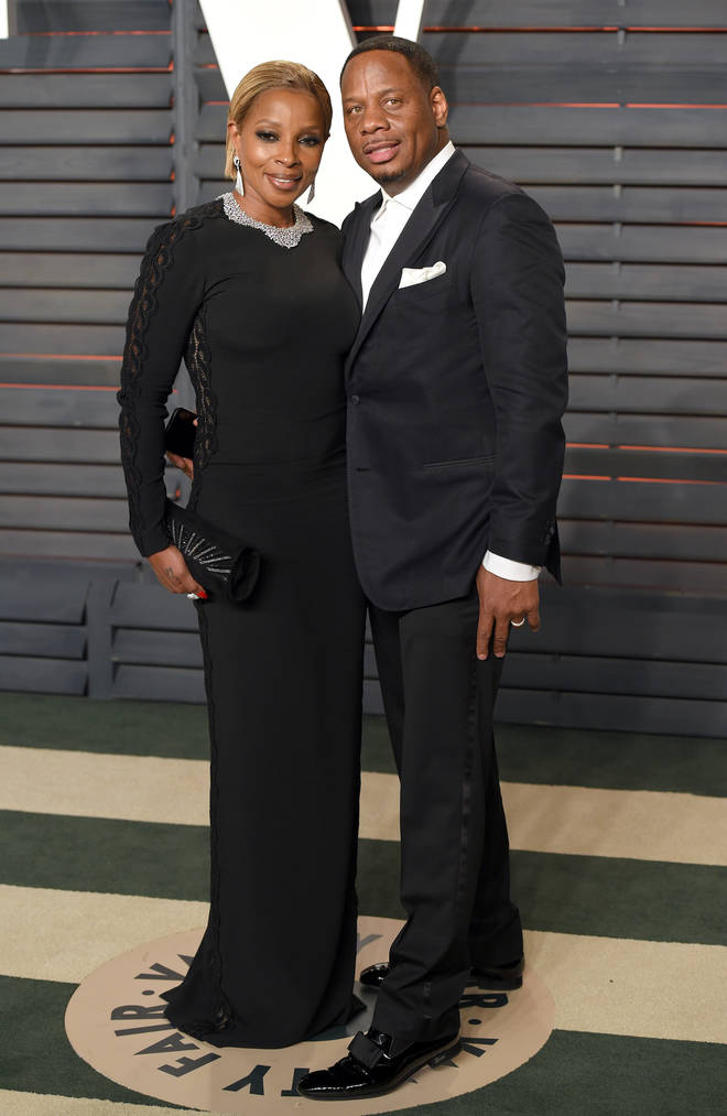 Blige and Kendu were married for 13 years