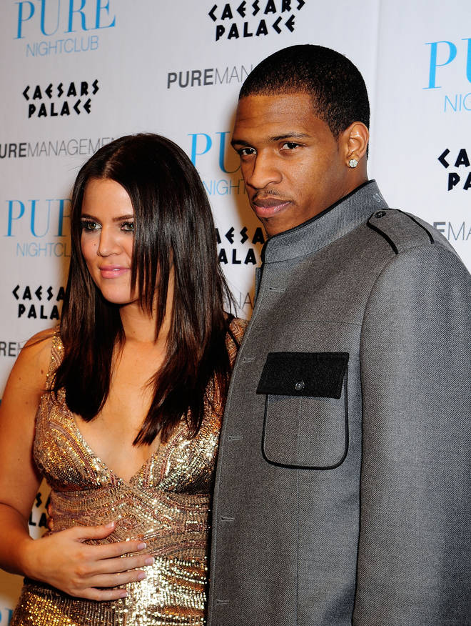 Rashad was one of Khloe's first public relationships