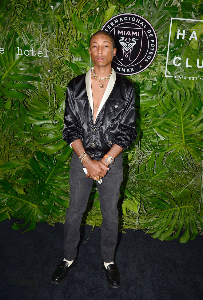 Tyler's album features the legendary Pharrell