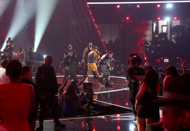 DMX Tribute performance onstage at the BET Awards 2021 at Microsoft Theater on June 27, 2021 in Los Angeles, California.