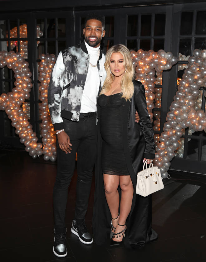 Khloe and Tristan had an on-off relationship