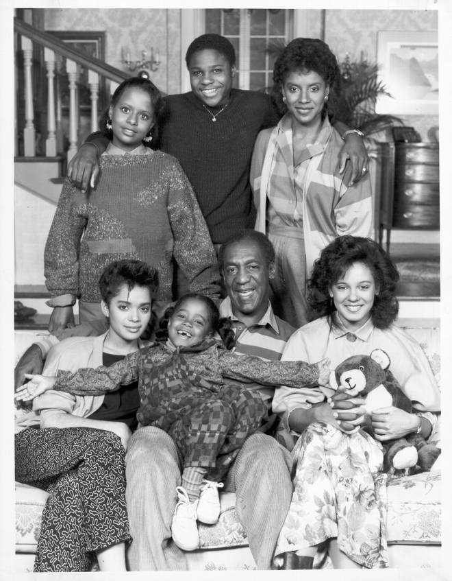 """Cast portrait of """"Cosby Show"""" for the 1984 - 85 season."""