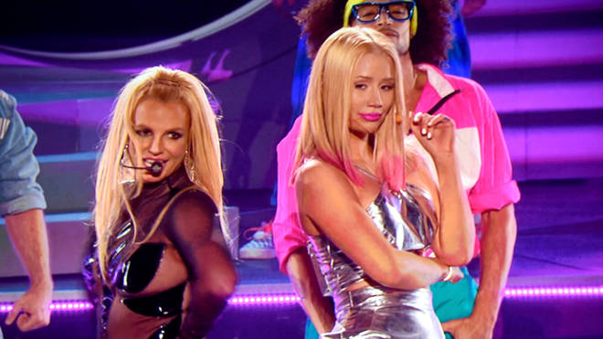 """Iggy says that Britney is """"not exaggerating or lying."""""""